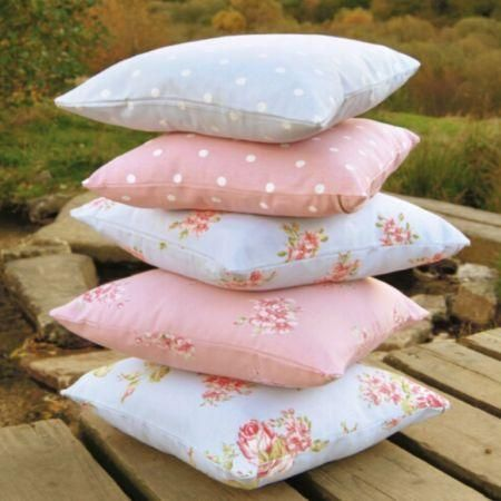 "Cushions from the Clarke & Clarke ""Modern Classics"" fabric collection"