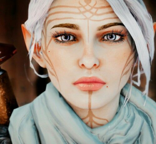 Lavellan http://alexschlitz.tumblr.com/tagged/dragon-age - love the vasselin for a cosplay elf costume