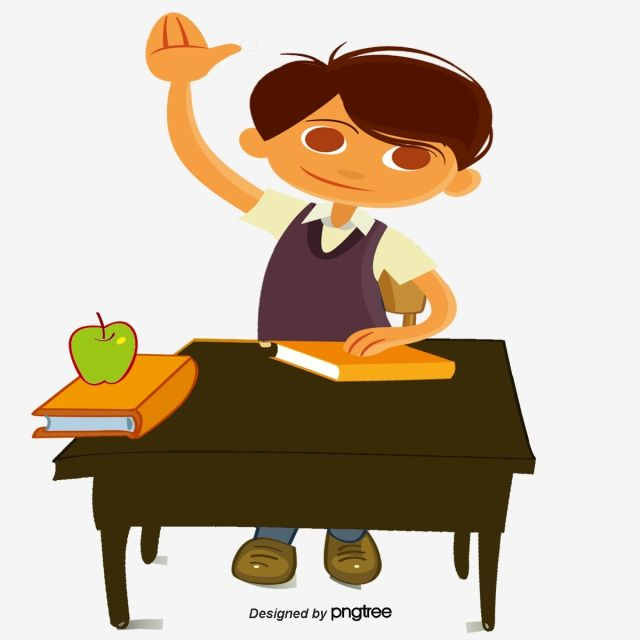 Answer Question Student Education Cartoon Student Vector Students Show Of Hands Stud Education Technology Learning This Or That Questions Elementary Activities