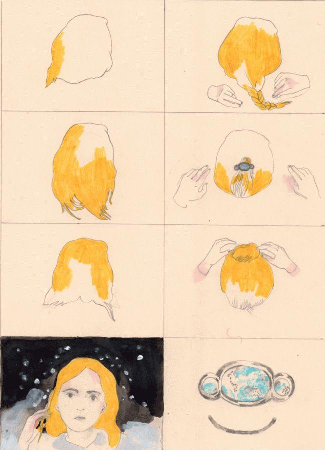 "Aidan Koch: from ""The Blonde Woman"""