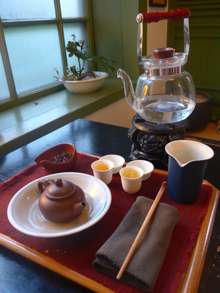 Wisteria Tea House Taipei, Taiwan :) Come and join Taiwanese Tea Style