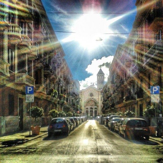 .@luci560 | #Eglise #church #chiesa S Giuseppe quartiere Madonnella #Bari  #igersitalia #WeAreInPuglia