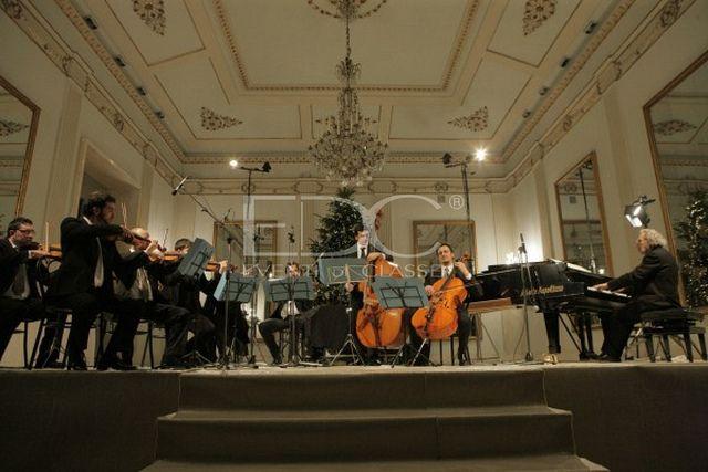 Il Maestro Luis Bacalov in esclusiva per Eventi di Classe al Teatro San Carlo - Rosy Fusillo