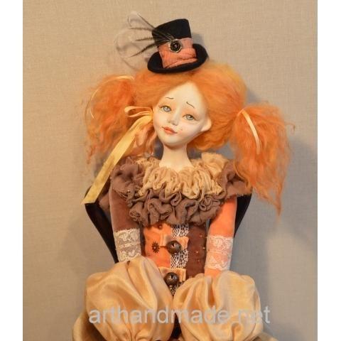 Boudoir doll Lulu. Author Marina Akulinicheva - http://arthandmade.net/akylinicheva.marina Boudoir doll, doll, interior doll, collectible doll, handmade doll, interior, gift, original gift, collection, Gallery Magical World, будуарные куклы, куклы, купить куклу, интерьерная кукла, коллекционная кукла, интерьер, подарок, оригинальный подарок, коллекция, Галерея Волшебный мир