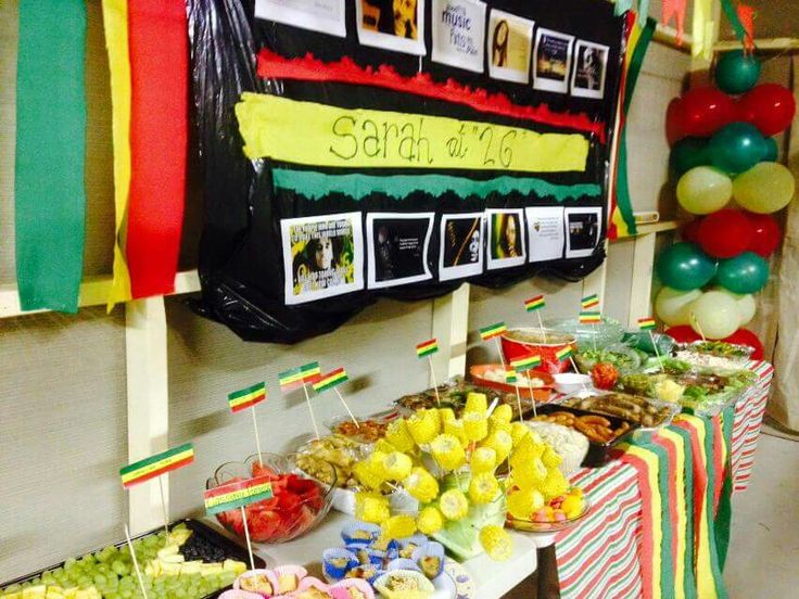 rasta party foods