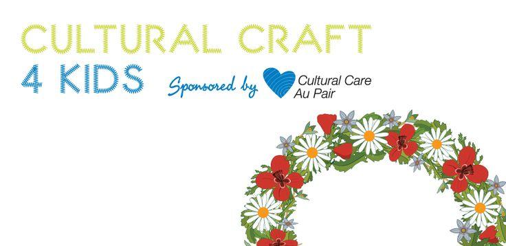 Cultural Craft for Kids: Swedish Midsummer Wreath