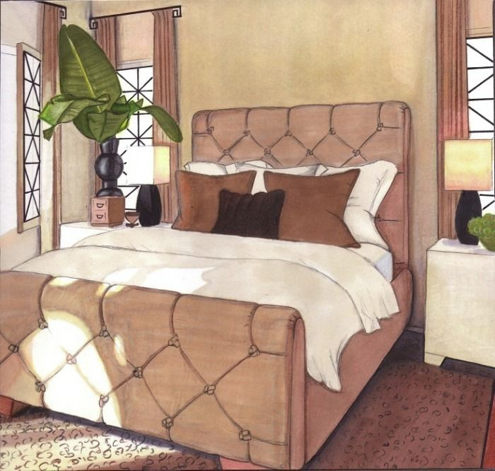 630 Best Interior Design Sketches Images On Pinterest