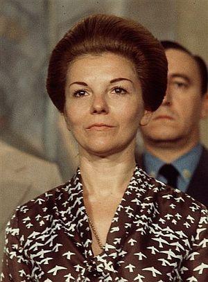 Isabel Martínez de Perón. Presidenta de Argentina.