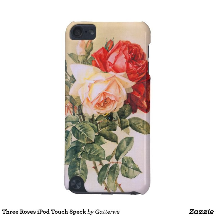Three Roses iPod Touch Speck iPod Touch (5th Generation) Case
