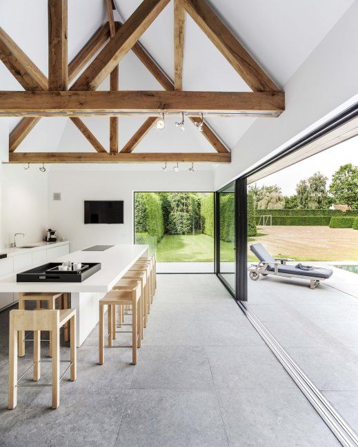 Floors indoor and outdoors