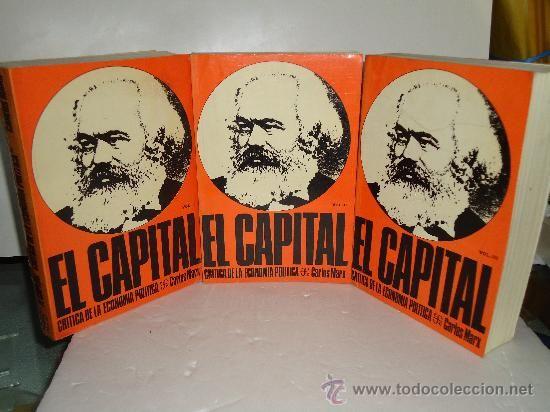 EL CAPITAL-CRITICA DE LA ECONOMIA POLITICA---3TOMOS --OBRA COMPLETA--CARLOS MARX