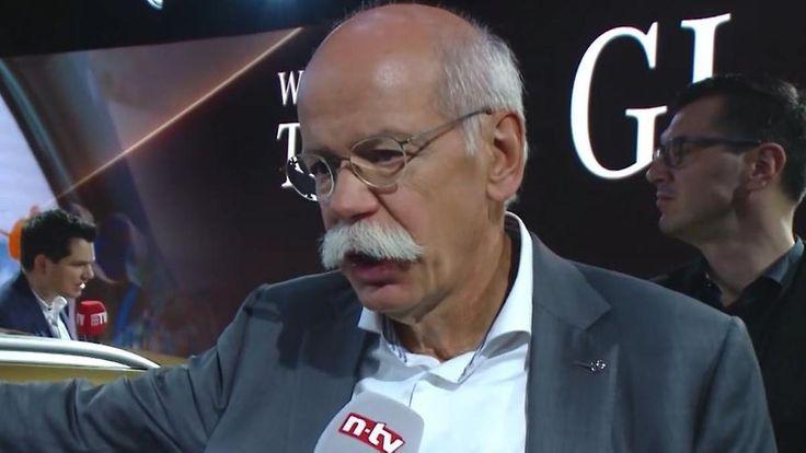"""Daimler-Chef Zetsche zum autonomen Fahren: """"Die reagieren nicht, wir agieren"""""""