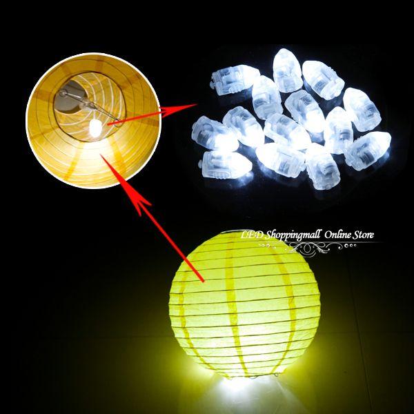 livraison gratuite 100pcslot flash led lumineux ballon changement de couleur de la lampe - Ballon Phosphorescent Mariage