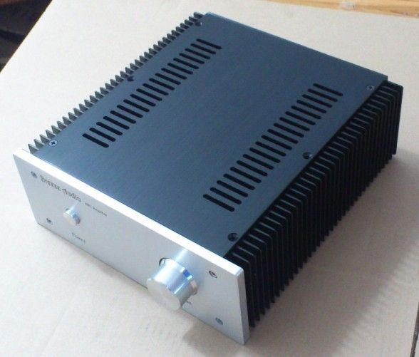(45.00$)  Know more - http://ai7i1.worlditems.win/all/product.php?id=32705317573 - WANBO Audio 2409 Full aluminum 2 side radiating HIFI audio box aluminum  power amplifier case 10W1969 240*90*257mm