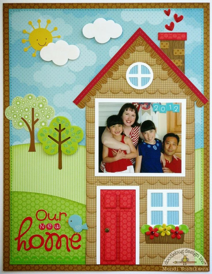 17 best images about scrapbook new home on pinterest for New home layouts