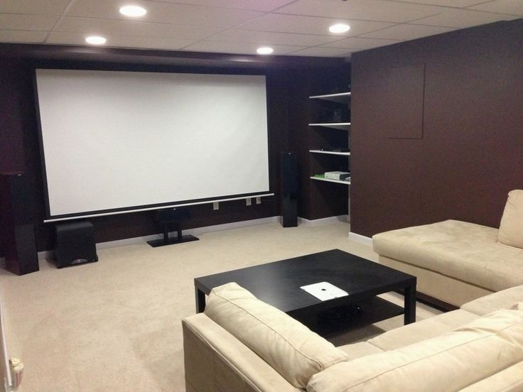 Simple Home Theater Setup Home Theater Rooms Small Home