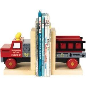 Classic Fire Truck Bookends
