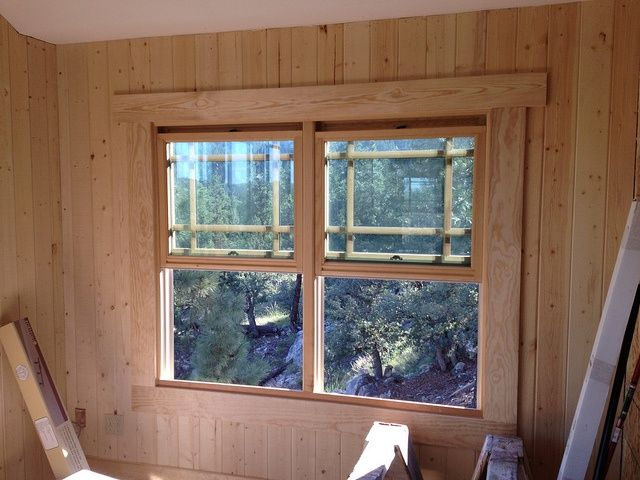20 best molding ideas images on pinterest molding ideas for Log cabin window trim