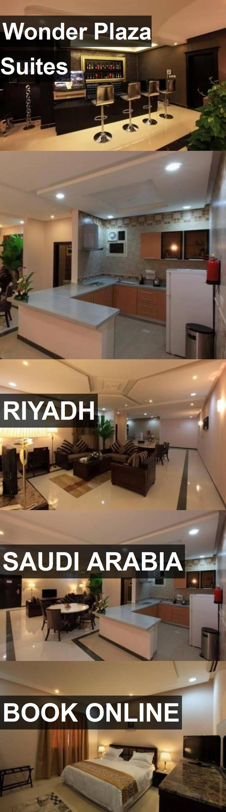 Hotel Wonder Plaza Suites in Riyadh, Saudi Arabia. For more information, photos, reviews and best prices please follow the link. #SaudiArabia #Riyadh #WonderPlazaSuites #hotel #travel #vacation