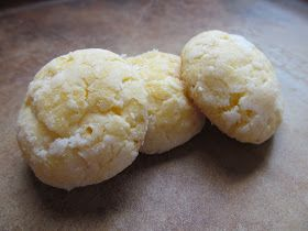 The Boys Made Me Do It!: Almond Cream Cheese Crinkles