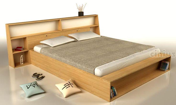 Oltre 25 fantastiche idee su testiera letto contenitore su - Testiera letto libreria ...
