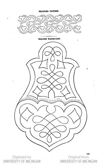 Soutache Embroidery Pattern.