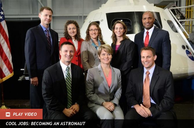 NASA Astronaut Recruits Asked Show Twitter Flair -- In a sign of the times, aspiring astronauts were asked to write a Twitter post, a limerick or a haiku as part of their NASA applications.