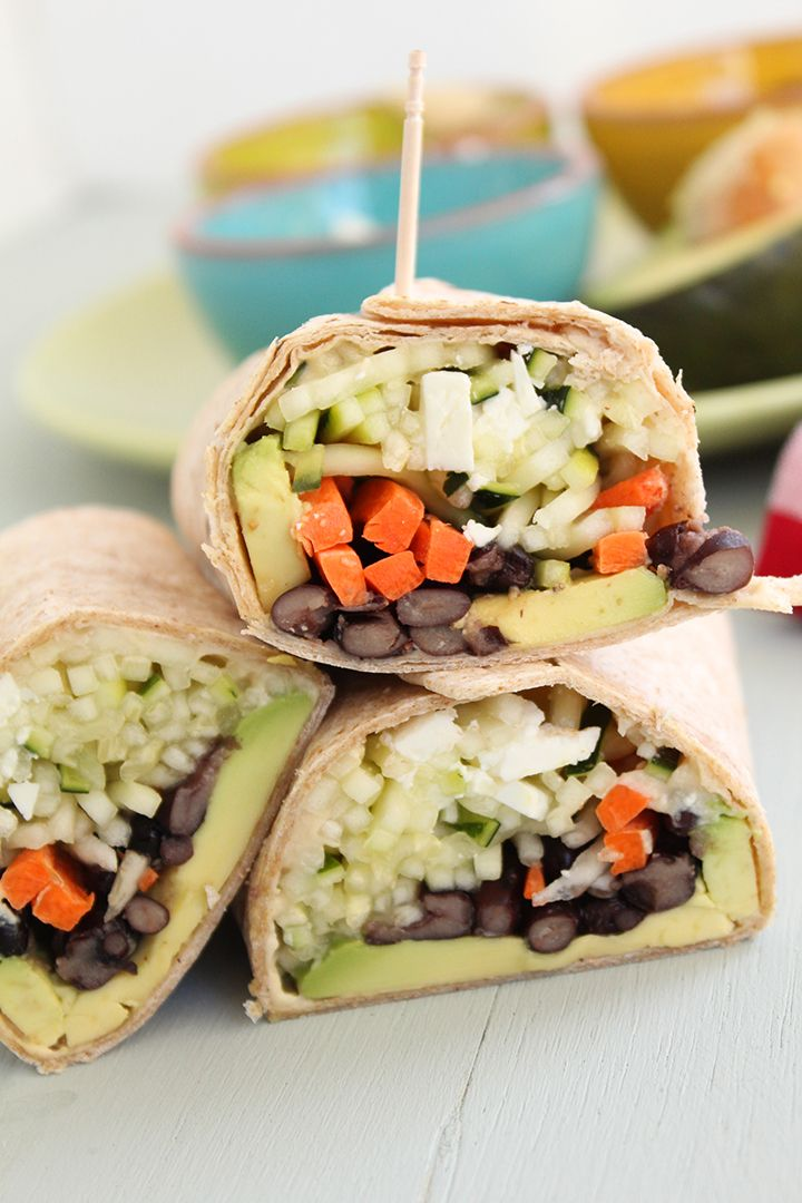 Healthy Crunchy Spiralized Veggie Noodle Wraps| Enjoy this recipe and for great motivation, health and fitness tips, check us out at: www.betterbodyfitnessbootcamps.com Follow us on Facebook at: www.facebook.com/betterbodyfitnessbootcamps