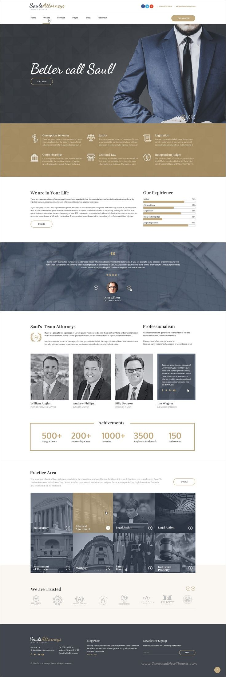 SaulsAttorneys is a wonderful #responsive 2 in 1 Bootstrap #HTML Theme for stunning Lawyers & #Attorneys website download now➩ https://themeforest.net/item/saulsattorneys-lawyers-attorneys-html-theme-pack/18277523?ref=Datasata