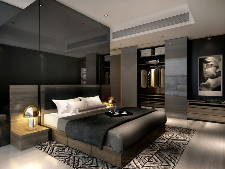 service apartment interior design mocha - unit08_master_R