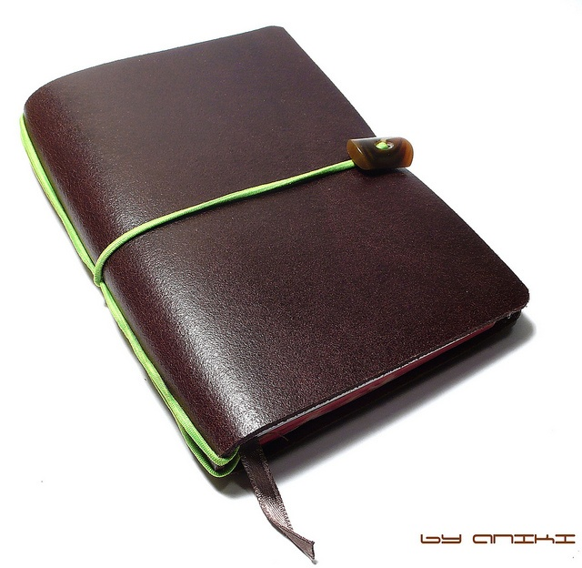 notebook #notebook #paper #stationary $22.00 Aniki Geographica Travellers Notebook Dark Brown