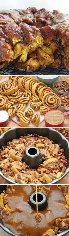 Cinnamon Roll Monkey Bread More