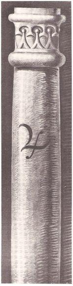 Sechste Säule – JUPITER (gezeichnet von Karl Stahl, München)