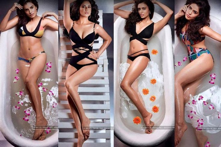 Miss Universe India 2016 contestants swimsuit photoshoot out