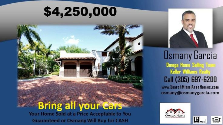 http://ift.tt/29apX8B FELIX PARK HOME ACRES - http://ift.tt/29fofFi Dont get stuck owning two homes. BUY THIS HOME  I WILL BUY YOURS! If you are looking to buy a home but have one to sell  you are finding yourself in the same dilemma that most homeowners find themselves in. We can help! To discuss the details of this incredible option  call Osmany Garcia directly at 305-985-6530 or for a free report on this exclusive offer and how it works visit http://ift.tt/29lPdhM   If you would like to…