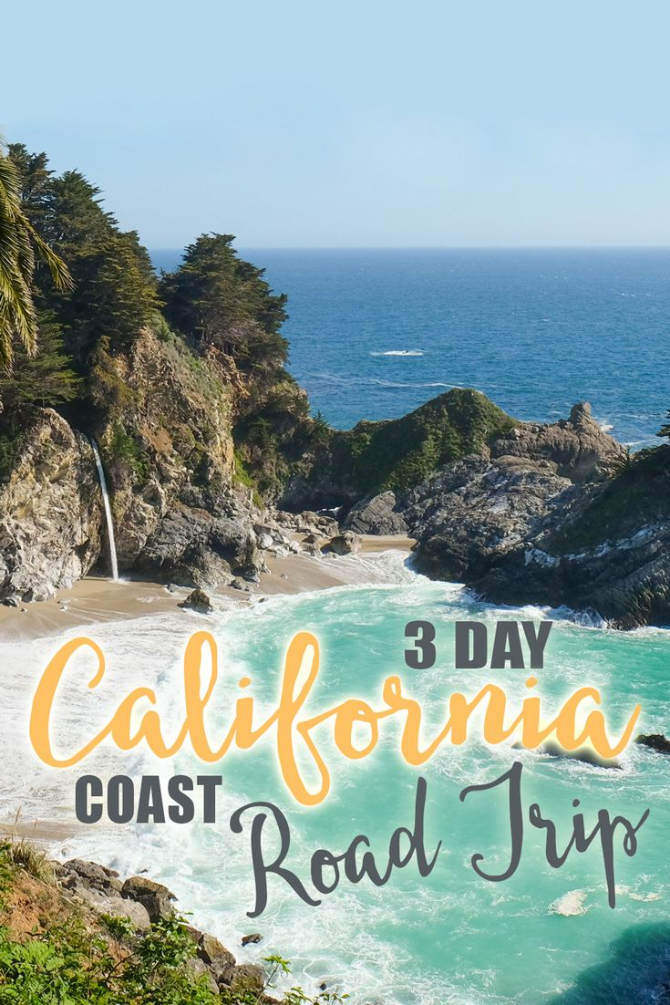 A visit to California wouldn't be complete without a road trip on the Pacific Coast Highway. This iconic road continues along most of the California coast and can be enjoyed at any pace…whether it's over the course of 1 day or 2 weeks. Here are my suggestions for an unforgettable California coast road trip!