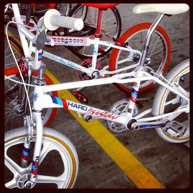 This bike was one of the first bikes designed with a ramp specific geometry. Always wanted one...
