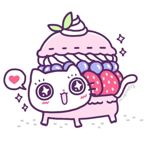 Macaron kitty