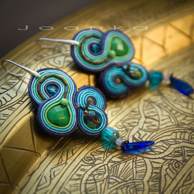Soutache earrings by Joanka