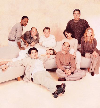 Voyager cast photo.