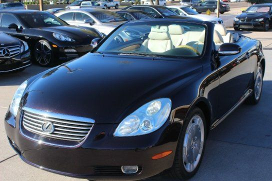 Convertible, 2002 Lexus SC 430 Convertible with 2 Door in Tempe, AZ (85281)