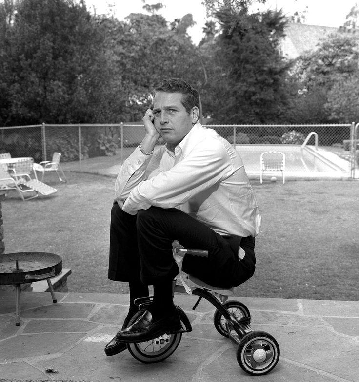 Black Bass Weejuns. Paul Newman, 1962.