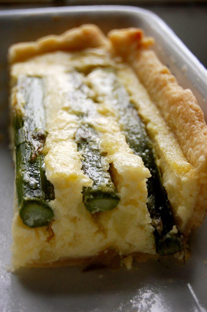 Asparagus & Potato Tart Recipe-How To Cook Fresh Asparagus. Tastiest Ideas
