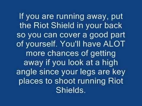 http://callofdutyforever.com/call-of-duty-tutorials/modern-warfare-2-riot-shield-tips-and-tricks/ - Modern Warfare 2 - Riot Shield Tips and Tricks  My First Tips and Tricks video! Starting out with, The Riot Shield! In this video, I will show my tips and suggestions when using the Riot Shield. Add my PSN; Finalninja447 for some Riot Shield Fun. Maybe also some other cool stuff.