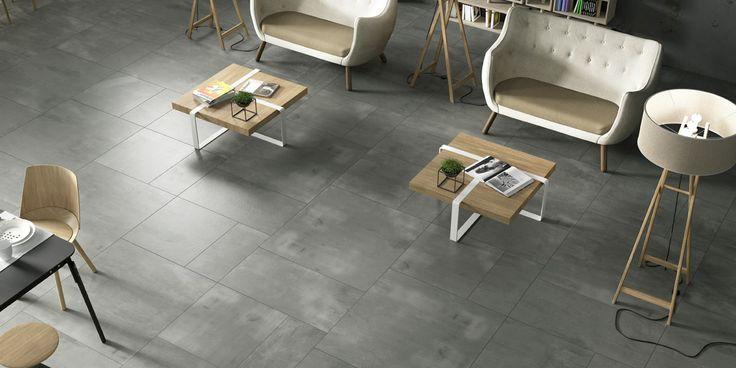 CREATIVE CONCRETE Tiles, light commercial modern ceramic full body porcelain tile [AM CREACON 2A]