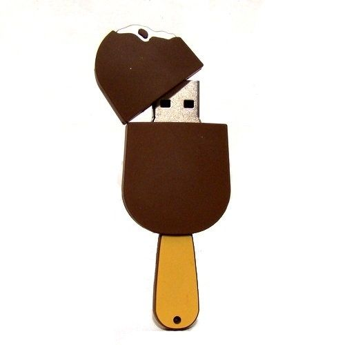 Nibbled Ice Cream Bar | 27 Reasons To Use Flash Drives From Pinterest