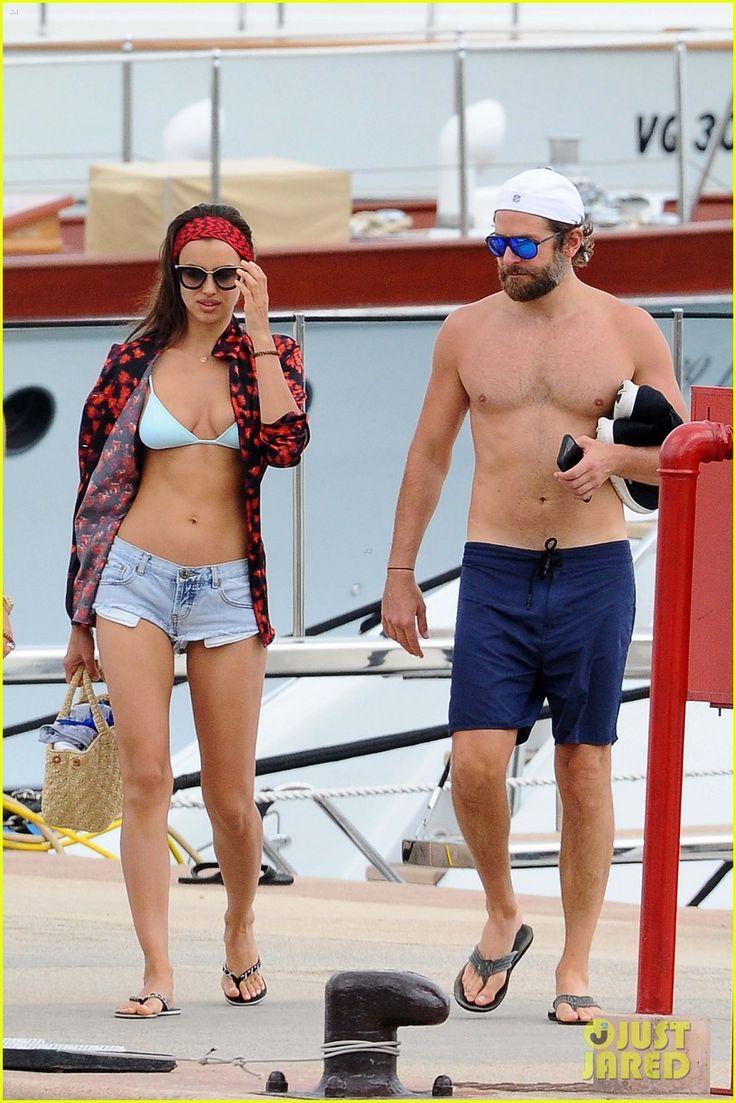 Bradley Cooper & Irina Shayk Share a Kiss on Italy Vacation!