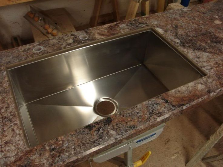 Undermount With Solid Surface And Laminate Countertop