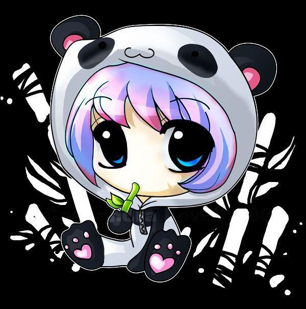 Great Fun Perfect Gift Love Panda T Shirt Do You Know A Girl Who Loves A Panda Or Panda Bears Then This Awesome Panda Tshirt Is Chibi Panda Anime Chibi Chibi