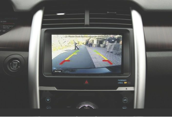 my TOUCH Integrated Backup Camera System for 2013-2015 Ford Taurus #AftermarketProducts
